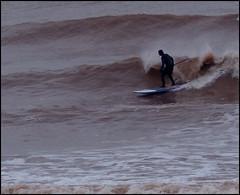 Sidmouth surfer (Philip Watson) Tags: sea seaside waves surfer devon sidmouth eastdevon