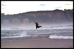 Salinas 31Ene2016 (2) (LOT_) Tags: coyote switch fly nikon waves lot asturias kiteboarding kitesurfing nitro hugo kitesurf nitro5 controller2 kitesurfmagazine kitespain switchkites switchteamrider nitro3 ©lot