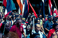 TPPA 2016-25 (domhartnett) Tags: newzealand democracy protest auckland aotearoa queenstreet skycity aoteasquare tpp tangatawhenua thisiswhatdemocracylookslike tppa tetiritiowaitangi thetreatyofwaitangi realchoice stoptpp tppanoway tranpacificpartnership itsourfuture noaltpp