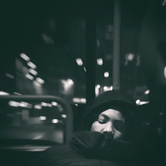 Something in the night (Fabio Fedrigo Foto) Tags: bus night dreams fabiofedrigo