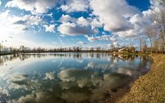 lake Zajarki (061) (Vlado Ferenčić) Tags: clouds landscapes cloudy lakes croatia fisheye hrvatska nikond600 zaprešić sigma1528fisheye zajarki lakezajarki