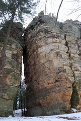 DSC_0027 (Fluff Tater) Tags: wisconsin glacial glaciallake millbluffstatepark raggedrocks 4march2016