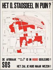Affiche Alkmaar (Regionaal Archief Alkmaar Commons) Tags: protest alkmaar affiche