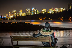 Enjoying the View (Daniel's Clicks) Tags: portrait selfportrait canada vancouver bc yvr longexposureportrait vancitybuzz