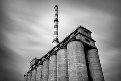 Factory I (Eugenios X.) Tags: longexposure blackandwhite factory drapetsona nx300