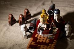 Lego Starwars Tatooine (sauter_charles) Tags: toy starwars lego luke r2d2 stormtrooper cantina jawa spielzeug droid c3po skywalker tatooine raider sturmtruppen moseisley