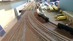 UP bowl special (Trains By Perry) Tags: up unionpacific ho hoscale emd hotrak superbowlspecial e9m feb2016
