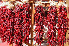 Red chili ristras with straw tassels 4288x2848 (Charlotte Clarke Geier) Tags: wallpapers screensavers