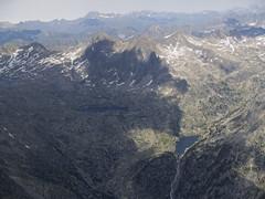Widok z Besiberri Sud na staw avalliers i stawy Tumeneia