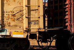 (o texano) Tags: bench graffiti texas houston trains broke freights a2m benching adikts