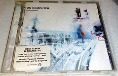 OK Computer (Richie Wisbey) Tags: music film up computer for flickr no album cd alien police down tourist climbing richard lucky paranoid walls karma airbag exit radiohead disc ok subterranean let homesick android compact electioneering parlophone surprises wisbel