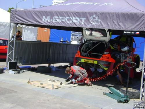 WRC Rally Guanajuato México 2016 - Sábado 5 de marzo - Rally Campus 054