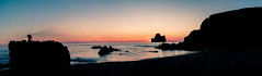 Spiaggia di Masua (andrewpabon) Tags: sunset italy beach evening rocks italia tramonto sardinia sony rocce spiaggia nebida 2016 masua portoflavia a6300