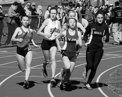 Merion Mercy Track (Charlie Bagent Photography) Tags: nikon trackandfield p7000