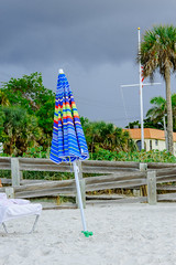 Blue Umbrella (mccobb) Tags: beach florida naples beachumbrella mccobb