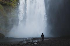 Me (Andrea Iorio - Landscape Photography) Tags: portrait self island waterfall iceland islanda skogafoss