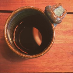 Morning coffee. Black. (matthewkaz) Tags: morning house black home coffee square table drink michigan slumber squareformat mug eastlansing 2016 burcham iphoneography instagramapp uploaded:by=instagram alcoholfreeapril