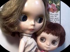 Blythe-a-Day March #22 Something Tiny: Pammy & Angel