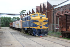 L1162 (tommyg1994) Tags: red electric victorian engine canadian steam newport railways locomotives workshops derm steamrail k190 a2986 z526 y112 s313 l1162 58rm y419