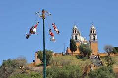 12 Marzo 2016. Turismo voladores. (Gobierno de Cholula) Tags: cholula puebla voladores actividadturística parquesoria