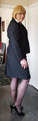 Working Girl02 (Tina Bea) Tags: tv highheels dress cd skirt lingerie crossdressing tgirl mature transvestite heels crossdresser crossdress tg enfemme tgurl