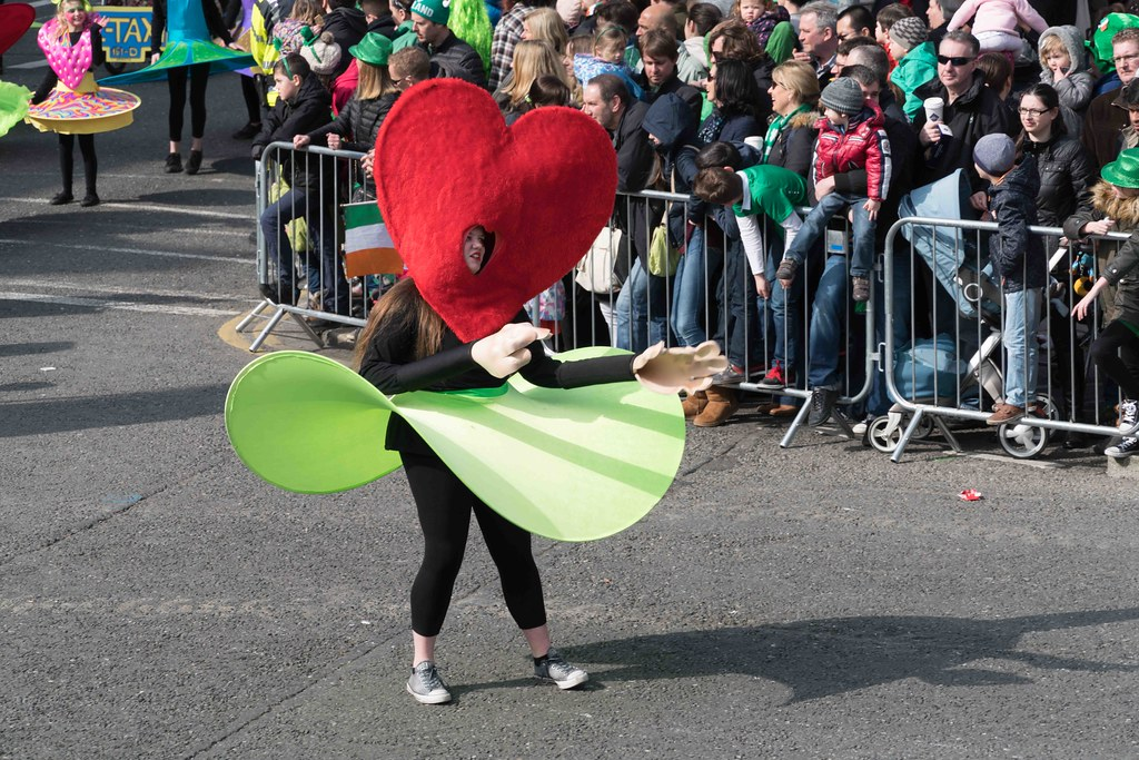 ARTISTIC AT THE ST. PATRICK'S DAY PARADE [MARCH 17 2016]--112463