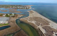 Ridgevale Beach at Chatham, Cape Cod Aerial (Chris Seufert) Tags: ocean sea beach capecod aerial chatham cape cod bostonist drone ridgevalebeach