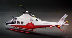 AW109 TREKKER -Orange - scala 1.32-5 (Maurizio Piazzai) Tags: model madeinitaly agusta trekker elicottero modello artigianato modellino agustawestland finmeccanica aw109