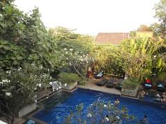 Pool at Frangipani Villa Hotel (doris.peterson) Tags: cambodia siemreap