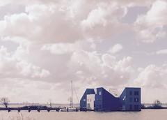 On the water (Arno van Meurs) Tags: house building water almere markermeer