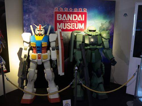 Gundam RX-78-2 and Zaku, Bandai Museum