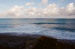 000463450021 (o331128) Tags: life travel blue sky green beautiful clouds photography nikon scenery taiwan pacificocean   hualien        negativecolorfilm