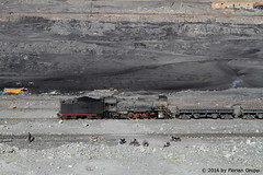 I_B_IMG_6315 (florian_grupp) Tags: china railroad train landscape asia mine desert muslim railway steam xinjiang mikado locomotive coal js steamlocomotive 282 opencastmine sandaoling