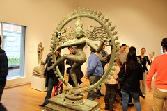 Shiva Nataraja, bronze, India (Tamil Nadu), 12th century (Davydutchy) Tags: sculpture india art netherlands amsterdam museum march asia asien god kunst nederland sculptuur national bacchus shiva nataraja rijksmuseum paysbas satyr niederlande azi beeldhouwwerk cuypers 2016 ampelos sater beeldhouwen righetti
