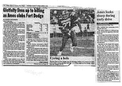 1986 AHS Football scanned newspaper article p007 dated September 6 1986 (ameshighschool) Tags: school sports newspaper football classmate classmates iowa scan highschool 1986 clipping highschoolreunion classreunion schoolmates schoolmate ahs athelete amesiowa ameshighschool ahsaa ahs1987 ameshighschoolalumniassociation ahs1986 ameshighclassof1986 ameshighclassof1987 1986ahs ameshighclassof1988 1987ahs 1988ahs ahs1988