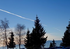 Contrail (jinahadam) Tags: france chamrousse