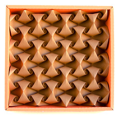 Curved #origami #tessellation (_Ekaterina) Tags: brown paper origami curved tessellation paperfolding corrugation tant ekaterinalukasheva