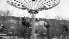 / Remembering childhood (Abs0lute2010) Tags: park summer man motion blur childhood russia carousel chain siberia melancholy attraction tomsk carelessness infantilism insouciance