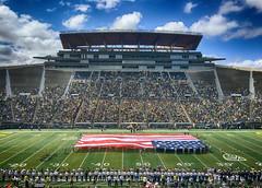 University of Oregon Ducks spring football game. Eugene, OR 2016 (drburtoni) Tags: oregon football stadium ducks eugene uofo oregonducks autzen