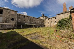 Court Yard (Andrew Gibson.) Tags: urban abandoned architecture hospital scary closed cheshire decay ghost ruin haunted human haunting exploration derelict flint urbanexploring morgue urbex holywell northwales sonya7ii ilce7m2 lluestyhospital