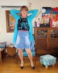 Skirt (Trixy Deans) Tags: hot cute sexy tv cd skirt crossdressing tgirl tranny transvestite denim transgendered miniskirt crossdresser crossdress skirts sexylegs transsexual classy xdresser sexyheels trixydeans sexytransvestite