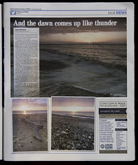 Feature in the EADT April 7th 2016 (SimonTHGolfer) Tags: uk sunset england weather sunrise photography newspaper suffolk media published photographer daily east article times interview printed feature ipswich eastanglia covehithe eadt anglian eastangliandailytimes archant ipswichstar simontalbothurnphotography