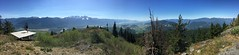 The view from the top of Bear Mountain (ruminate) Tags: canada outdoors bc hiking britishcolumbia bearmountain iphone harrisonhotsprings