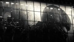 Spartan Locke... (RALPHKE) Tags: nyc newyorkcity travel usa newyork facade america canon grid blackwhite flickr unitedstates manhattan halo billboard midtown american timessquare banners toysrus worldslargest guardians flagship midtownmanhattan frontfacade halo5 halo5guardians canoneos750d spartanlocke