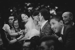 Wedding Kiss (siebe ) Tags: wedding holland netherlands dutch groom bride kiss couple kus bruiloft 2015 bruid trouwreportage bruidsfotografie bruidsfoto siebebaardafotografie wwwmooietrouwreportagesnl