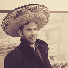 The Man in the hat. #Mexico... (nathanrobinson2) Tags: hat sepia mexico cowboy mexican western sombrero clinteastwood scunthorpe blackcoat funnydaddy sexeyes sepialovers scunthorpemuseum uploaded:by=flickstagram instagram:photo=1037043214091289480184137303