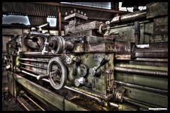 Mechanics (Fisheye Creation) Tags: brittany machine bretagne firm hdr usine lorient bracketing mecanic keroman