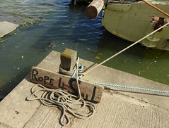 Rope 4 Sail (Richie Wisbey) Tags: new two water up river concrete boat suffolk ramp flickr post salt tie vessel rope knot quay pole richie richard secure mast tied tidal twine slipway woodbridge hemp deben wodden secured knotted brackish wisbey