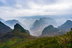 Ha Giang - Northern of Vietnam (Le Quang Photography - 0989223384) Tags: road park travel sky mountain tree green tourism nature rock stone rural landscape asian countryside foods asia vietnamese natural outdoor plateau hill vietnam valley curve global geological mountainous hagiang