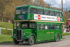 RLH48 (MXX248) (Gerry A Powell) Tags: bus coach brooklands londontransport infocus highquality mxx248 rlh48 londonbusmuseum
